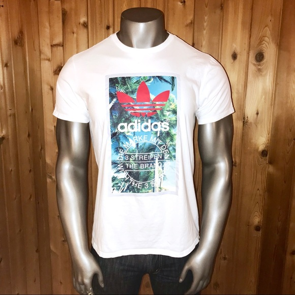 d2158bfb00 Adidas Originals Trefoil Tropical Men's XL T-Shirt